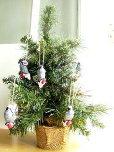 Possum Christmas Ornament Polymer Clay Possum by PossumTree