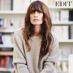 « She's one of the most sought-after faces in fashion - #THEEDIT speaks to @carolinedemaigret Photograph by @emstempest »