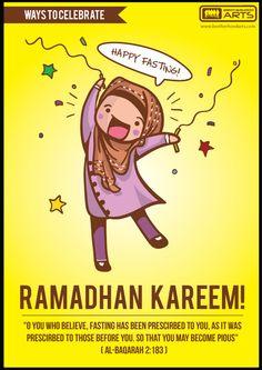 Ramadhan poster series by Alia Nadhirah