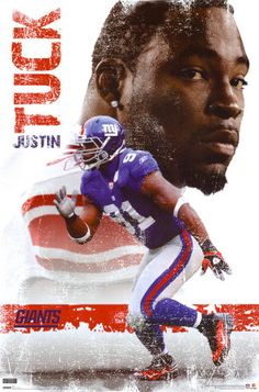 """The Catch Odell Beckham Jr New York Giants Wide Receiver HQ Sport Poster 24/""""×36/"""""""
