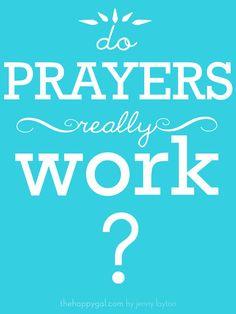 An inspiring story of how a little prayer was answered. #prayer #faith# #theunexpected