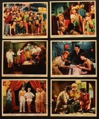 9j011 PAJAMA GAME 12 color 8x10 stills '57 sexiest Doris Day & the cast of the Broadway play!