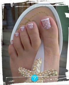 Uñas de tus pies coquetas