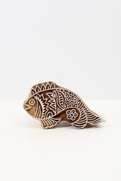 Cool Fair Trade wooden stamps | Hand Carved Stamp fish 209 by TATAindianwoodstamps on Etsy, $21.95