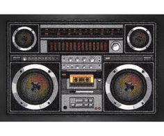 Felpudo radiocasette - https://www.esmiruina.com/felpudo-radiocasette/