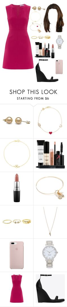 """AZE (aftern/tvspt)"" by ittgirl ❤ liked on Polyvore featuring Alison Lou, Jennifer Meyer Jewelry, Smashbox, MAC Cosmetics, Vera Bradley, Charlotte Russe, Minor Obsessions, ETUÍ, Kate Spade and Diane Von Furstenberg"