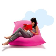 Frameless furniture - poufs and floor cushions   Blog   @My Italian Living  