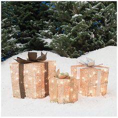 Pack de 4 9,5 cm Ice Blue Glitter Reindeer D/écorations de No/ël
