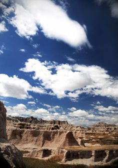 Badlands National Park in South Dakota via Beers & Beans >>> put it on your bucket list! It's beautiful!