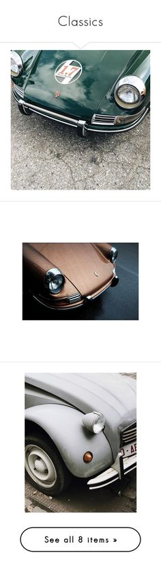 """""""Classics"""" by les1 ❤ liked on Polyvore featuring classic, retro, oldschool, drive, cars, mija, home, home decor, wall art and artists"""