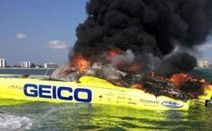 "Year after year, Miss GEICO ran most of its ""races"" without competition. That's a fact. But the turbine-powered 50-foot Mystic never failed to put on a good show for the fans that did show up. That's another fact. When Miss GEICO burned during a test session Sarasota, Fla., offshore racing didn't just lose its most visible and best-known boat. In all likelihood, it lost the pending reality of a real turbine class."
