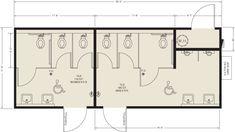 Image result for public restroom design plans