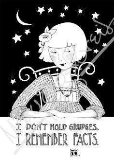 Don't Hold Grudges Engeldark Card – Mary Engelbreit Studios