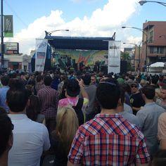 Besnard Lakes at Do Division Fest 2012. #chicago #music #dodivision #besnardlakes
