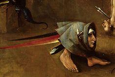 Hieronymus Bosch, Weltgerichtstriptychon, Mitteltafel, Detail, um 1490 bis um 1505