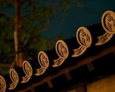 瓦 - 高台寺 / Kodai-ji Temple-- roof detail