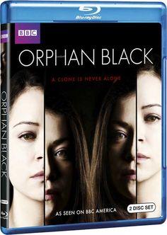 Orphan Black - BBC Press Release Officially Announces 'Season 1' on DVD, Blu