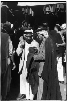 Henri Cartier-Bresson IRAQ. Baghdad. Bazaar on Al Rachid Street. 1950.