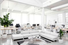 Everlane's New Minimal HQ Is 100% Office Goals - UltraLinx