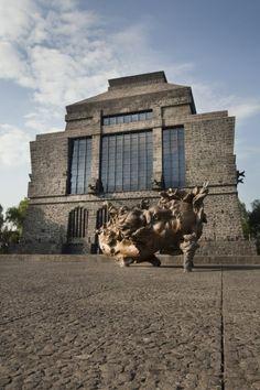 Museo Anahuacalli   2011  Coyoacan, Ciudad de México, México. #JavierMarínescultor