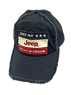 Face of Freedom Jeep Weathered Cap
