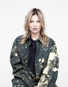 Kate Moss in Raf Simons/Sterling Ruby for AnOther Magazine A/W14