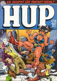 Hup comics cover by Robert Crumb