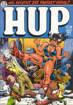 Hup comics cover by Robert Crumb