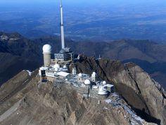 """""""The Observatoire du Pic du Midi de Bigorre (Pic du Midi Observatory)"""" - Rue Pierre Lamy de la Chapelle 65200, La Mongie, France."""