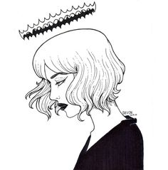 """Art by Devon """"Dark Queen"""""""