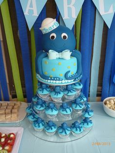 Under the sea - Octopus cake tower