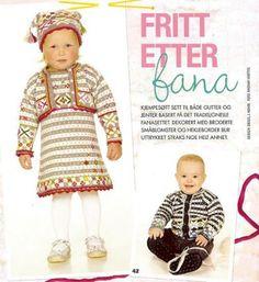 Fritt etter Fana fra Strikk til småfolk.jpg :: Sidsel J Høivik My Wish List, Baby Knitting, Photo Galleries, Barn, Crochet Hats, Pattern, Inspiration, Fashion, Knitting Hats