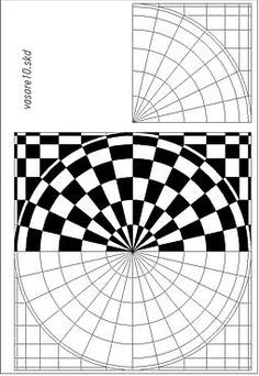 Here are the Beautiful Op Art Drawing By Jean Larche Coloring Page. This post about Beautiful Op Art Drawing By Jean Larche . Illusion Kunst, Illusion Drawings, Illusion Art, Optical Illusion Quilts, Optical Illusions, Doodle Patterns, Zentangle Patterns, Doodle Borders, Henna Patterns