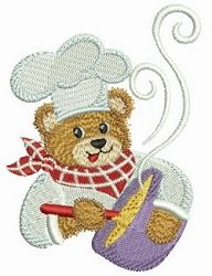 Chef Teddy Bear Set - 4x4 | Kitchen-Other | Machine Embroidery Designs | SWAKembroidery.com