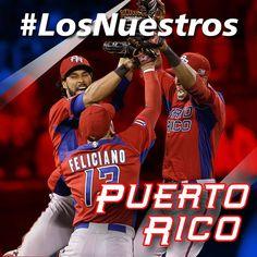 Puerto Rico #LosNuestros #WBC2017 #baseball