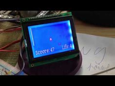 DIY Arduino LCD game - Faling life & points Home Made Games, Arduino Lcd, Coding, Diy, Bricolage, Do It Yourself, Homemade, Diys, Programming