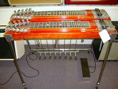 Sho Bud The Professional Double Neck Pedal Steel Guitar Red Maple | eBay