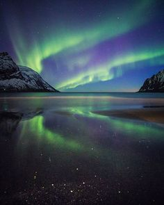 Ersfjord beach - Senja it's a amazing place to visit...one exposure, one pretty cool shot!!!
