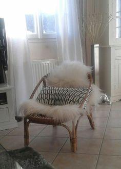 Nouveau petit fauteuil en rotin  #decoscandinave
