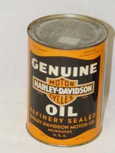 Rare HD Oil Can