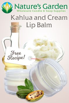 Free Kahlua and Cream Lip Balm Recipe by Natures Garden