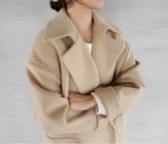 Check out forLincoln.com for our RAW Clothes Camel Cocoon Coat. 20% off your first order