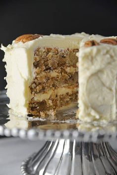 Hummingbird Cake is a classic, Southern cake recipe. Made with bananas, pineapple, and pecans and topped with a cream cheese frosting!