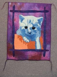 Blue Kitty by Tonya Littman