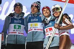 Ski Jumping, Poland, Motorcycle Jacket, Skiing, Sky, Sports, Ski, Heaven, Hs Sports