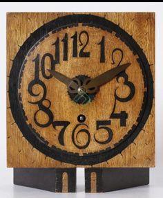 Clock Art, Clocks, Amsterdam School, Interior, Wall, Home Decor, Watches, Tips, Vintage Watches