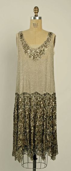 Evening Dress 1926, French