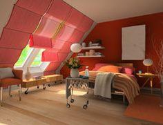 tolle ideen wie sie ihr dreiecksfenster verdunkeln gardinen pinterest gardinen vorh nge. Black Bedroom Furniture Sets. Home Design Ideas
