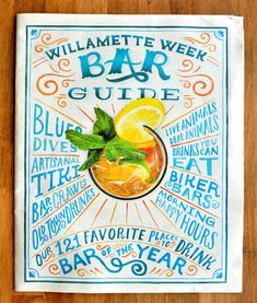 Willamette Week Bar guide by Mary Kate McDevitt