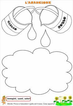 Idee e proposte didattiche per lo sviluppo e l'apprendimento. Risorse per insegnanti, educatori, genitori e Bambini Homeschool Kindergarten, Preschool Activities, Color Secundario, Felt Crafts Patterns, Cross Stitch For Kids, Alphabet For Kids, Gifted Education, Homescreen Wallpaper, School Decorations
